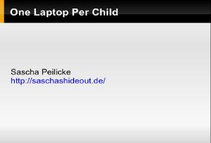 OLPC presentation